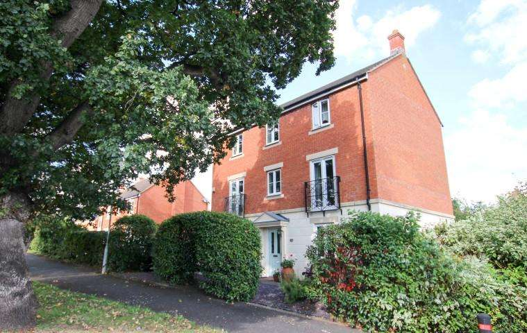 4 Bedrooms Detached House for sale in Oak Apple Drive, Bridgwater TA6