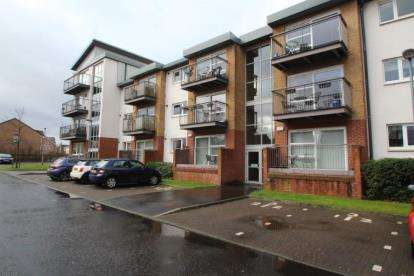 2 Bedrooms Flat for sale in Scapa Way, Stepps