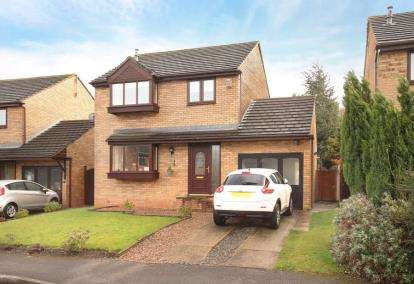 3 Bedrooms Detached House for sale in Castlerow Drive, Sheffield, South Yorkshire