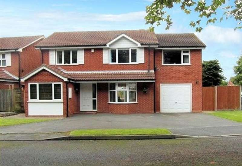 5 Bedrooms Detached House for sale in Stonehill Croft, Monkspath