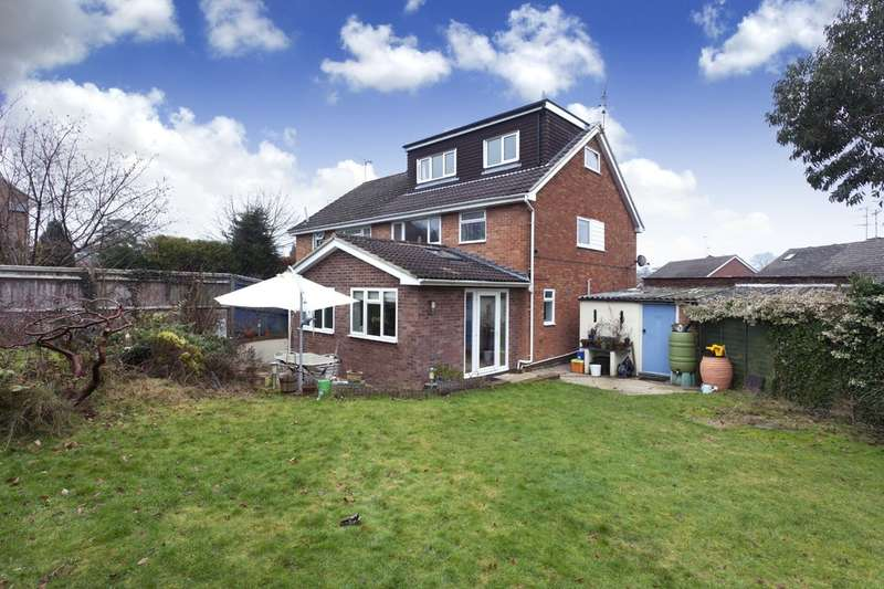 4 Bedrooms Semi Detached House for sale in Ingram Close, Horsham