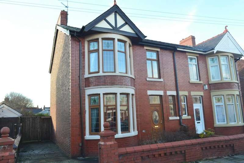 3 Bedrooms Semi Detached House for sale in Worsley Avenue, Blackpool, FY4