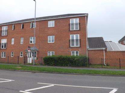 1 Bedroom Flat for sale in Waterworks Road, Coalville