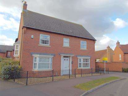 4 Bedrooms Detached House for sale in Lady Hay Road, Leicester, Leicestershire