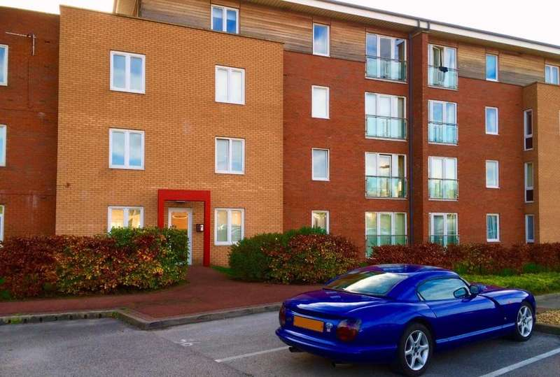2 Bedrooms Apartment Flat for sale in Bravery Court