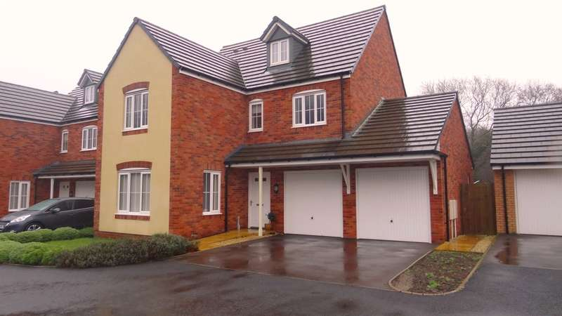 5 Bedrooms Detached House for sale in Golwg Y Coed, Barry