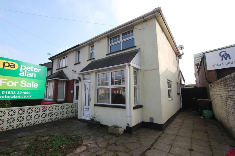 3 Bedrooms Semi Detached House for sale in Conway Road, Newport