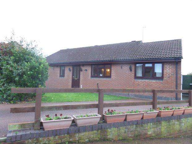 2 Bedrooms Detached Bungalow for sale in VICARAGE FARM CLOSE, ESCOMB, BISHOP AUCKLAND