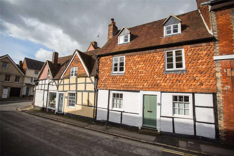 4 Bedrooms Terraced House for sale in Silverless Street, Marlborough, Wiltshire, SN8