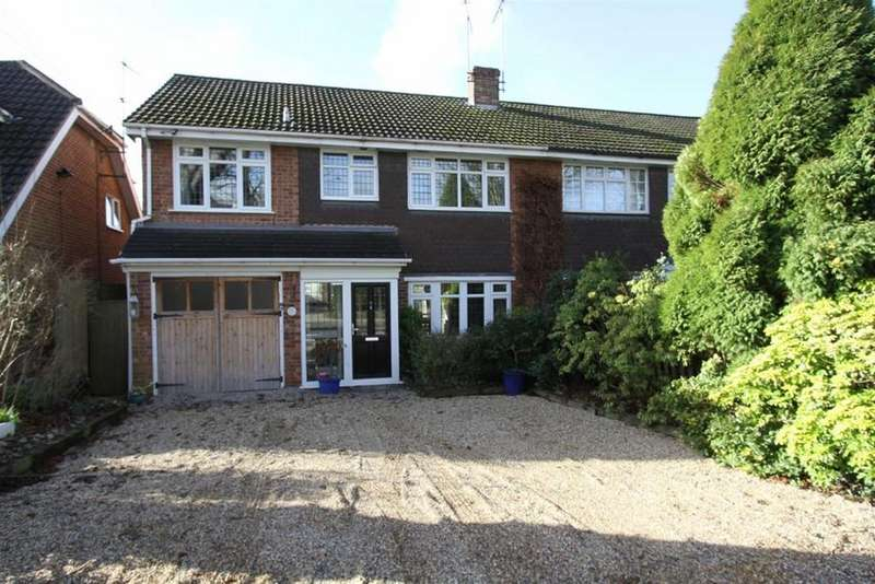 4 Bedrooms Semi Detached House for sale in Wakefield Avenue, Billericay, Essex, CM12 9DN
