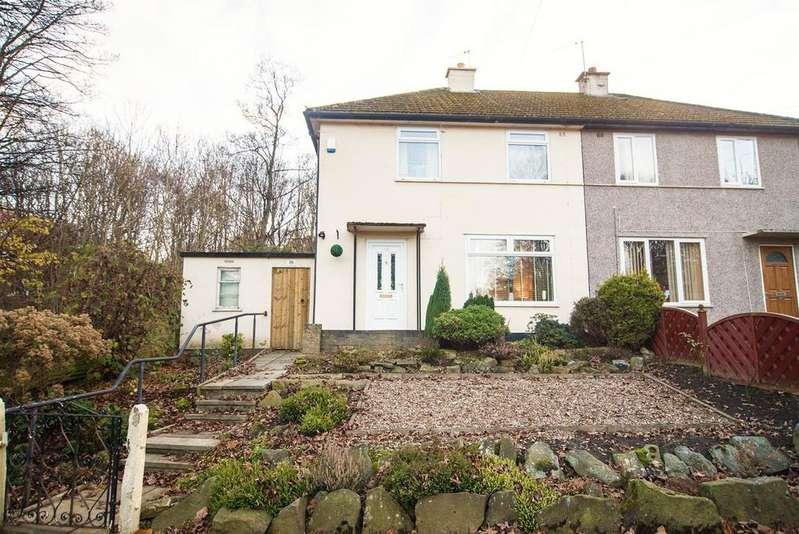 3 Bedrooms Semi Detached House for sale in Southfield Road, Almondbury, Huddersfield, HD5 8TZ
