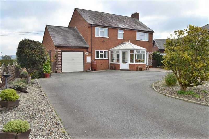 4 Bedrooms Detached House for sale in Llys Hafan, Maestrannon, Trefeglwys, Powys, SY17