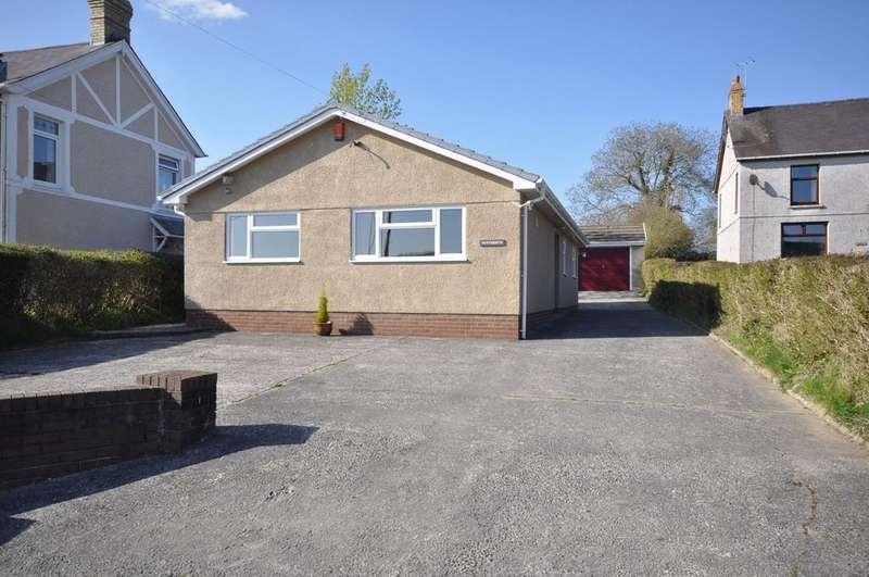 3 Bedrooms Detached Bungalow for sale in Penyberth, Llanpumsaint, Carmarthenshire SA33 6LA