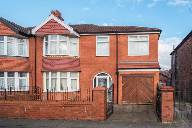 4 Bedrooms Semi Detached House for sale in Granby Road, Stretford, Manchester, M32