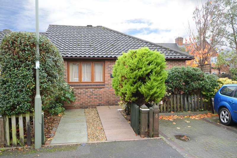 2 Bedrooms Semi Detached Bungalow for sale in Rede Court, Old Palace Road, Weybridge KT13