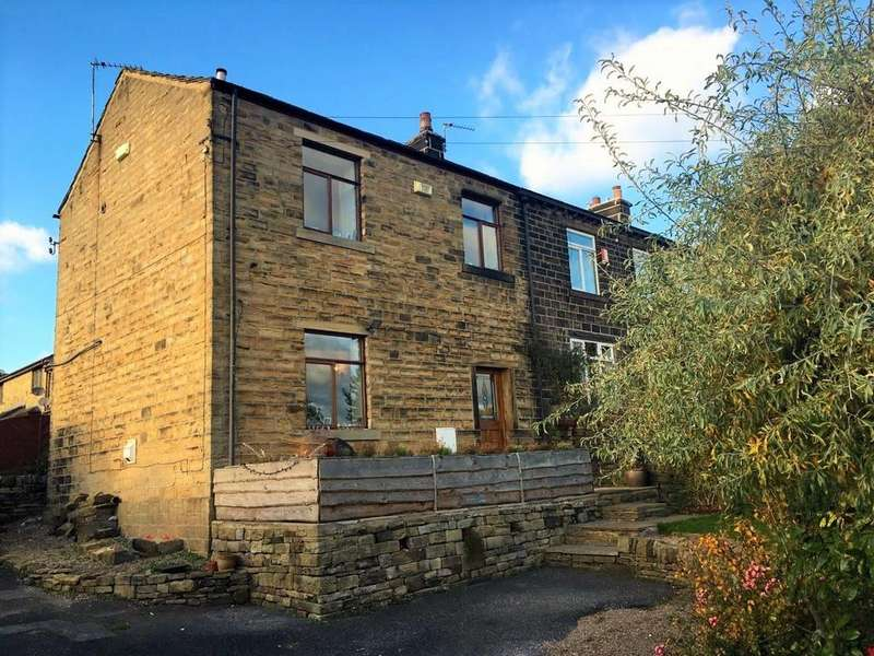 3 Bedrooms End Of Terrace House for sale in Stoneleigh Barn, Far Bank, Shelley, Huddersfield, HD8 8HT