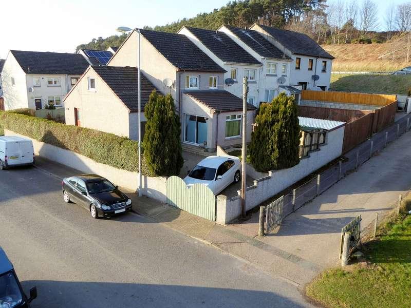 4 Bedrooms End Of Terrace House for sale in 2 Beech Walk, South Lesmurdie, Elgin, IV30 4BA