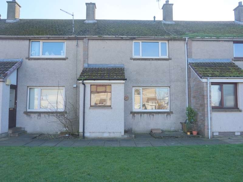 2 Bedrooms Terraced House for sale in 7 Hillview Crescent, Ferryden, Montrose, DD10 9RZ