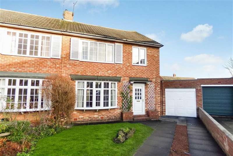 3 Bedrooms Semi Detached House for sale in Barrington Avenue, North Shields