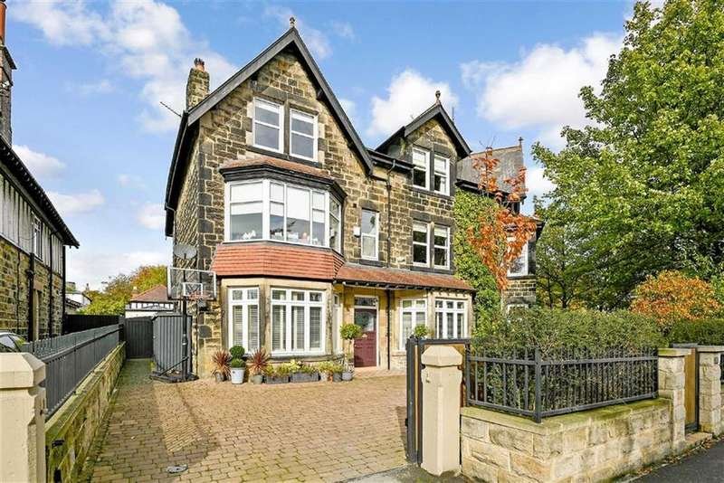 5 Bedrooms Semi Detached House for sale in Leadhall Lane, Harrogate, North Yorkshire