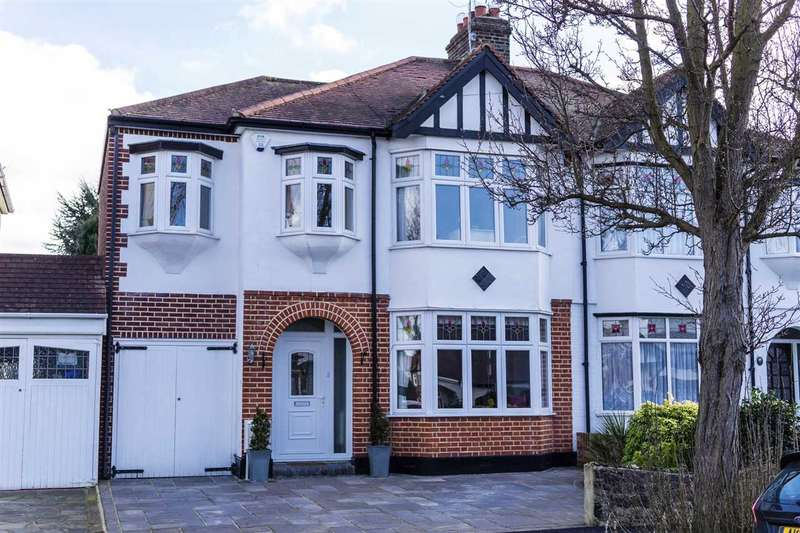 4 Bedrooms Semi Detached House for sale in Oak Avenue, Upminster