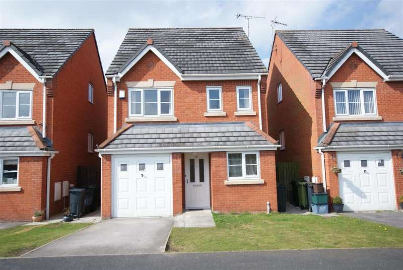 4 Bedrooms Detached House for sale in Snowberry Way, Whitby ,Cheshire CH66 2UA