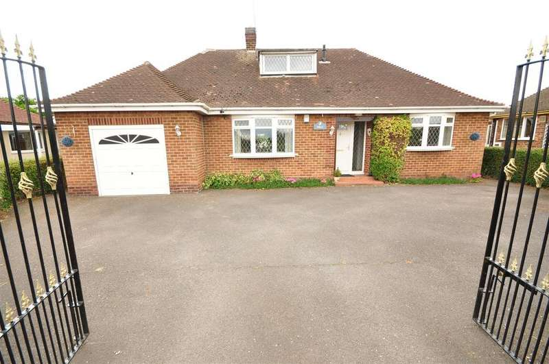 3 Bedrooms Detached Bungalow for sale in Lowdham Road, Gunthorpe, Nottingham, NG14 7EP