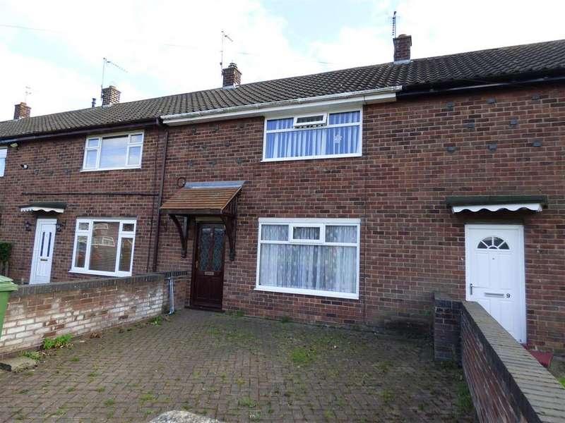 2 Bedrooms Terraced House for sale in 7 Burden Close, BEVERLEY, East Yorkshire, HU17 9LD