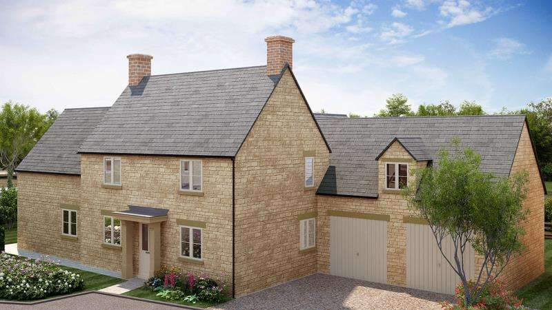 4 Bedrooms Detached House for sale in Plot 5 Woodley House, Limbeck Way, Stonesfield, Witney, Oxfordshire