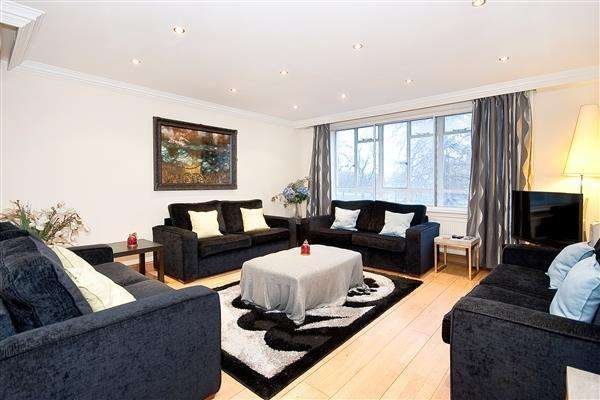 3 Bedrooms Flat for sale in HYDE PARK PLACE, HYDE PARK, W2