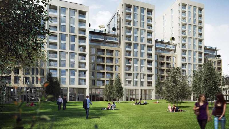 2 Bedrooms Flat for sale in North Wharf Road, London