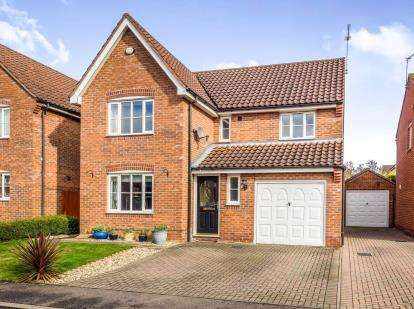 4 Bedrooms Detached House for sale in Rackheath, Norwich, Norfolk