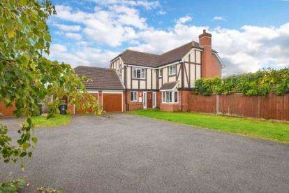 5 Bedrooms Detached House for sale in Duck End Close, Houghton Conquest, Bedford, Bedfordshire