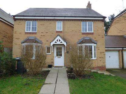 4 Bedrooms Detached House for sale in Woodlands, Grange Park, Northampton, Northamptonshire