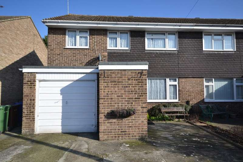 4 Bedrooms Semi Detached House for sale in Holst Close, Stanford-le-Hope, SS17