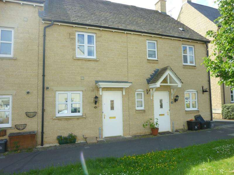 2 Bedrooms Terraced House for sale in Elmhurst Way, Shilton Park, Carterton, Oxon