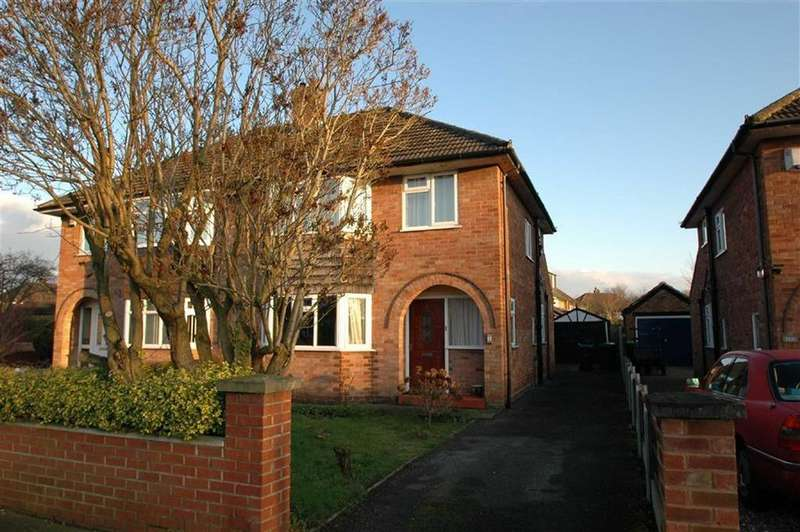 3 Bedrooms Semi Detached House for sale in Mannings Lane South, Hoole, Chester