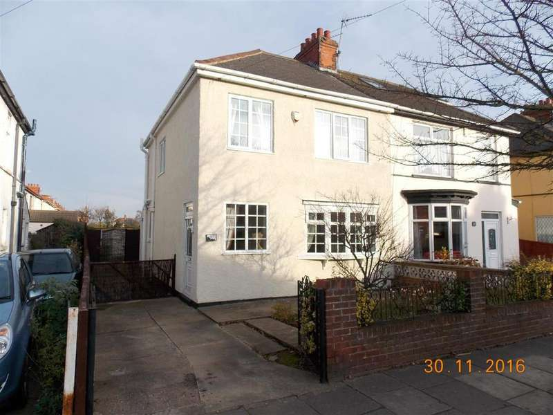 3 Bedrooms Semi Detached House for sale in 331 Brereton Avenue, Cleethorpes, DN35 7UN