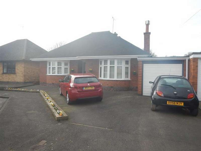 2 Bedrooms Detached Bungalow for sale in The Lynch, Attleborough, Nuneaton, Warwickshire, CV11