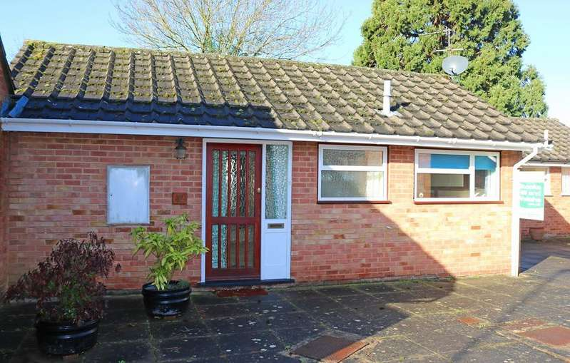 2 Bedrooms Semi Detached Bungalow for sale in Queens Court, Ledbury, HR8