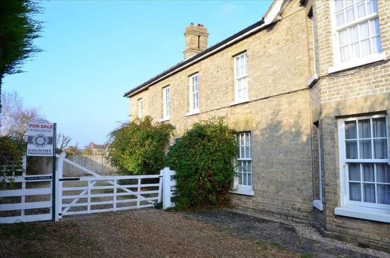 4 Bedrooms Country House Character Property for sale in South Street, LITLINGTON, Royston, SG8