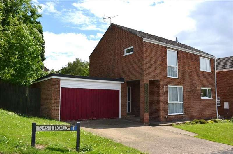 4 Bedrooms Detached House for sale in Nash Road, Royston, SG8