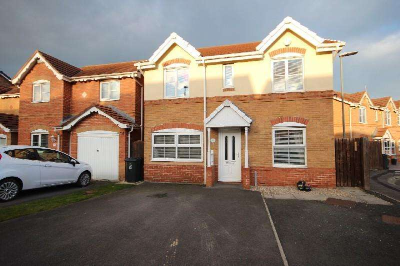 4 Bedrooms Detached House for sale in Whin Meadows, Hartlepool