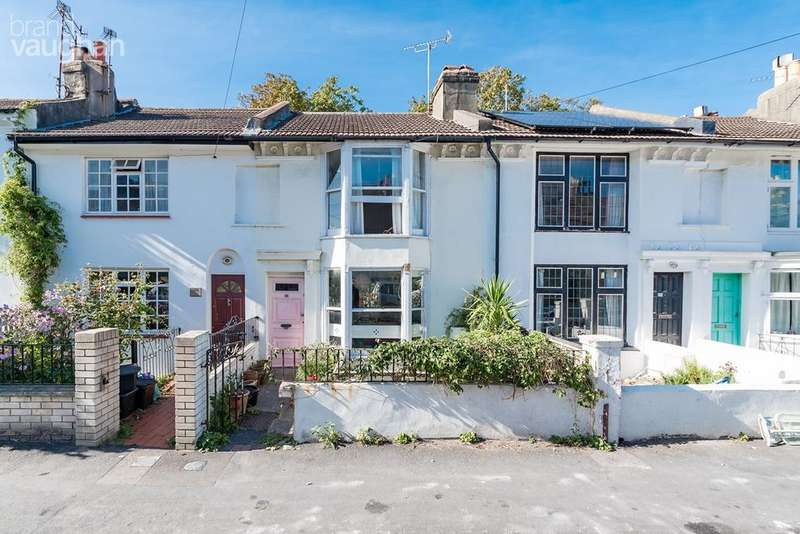 4 Bedrooms Terraced House for sale in Hanover Street, Brighton, BN2