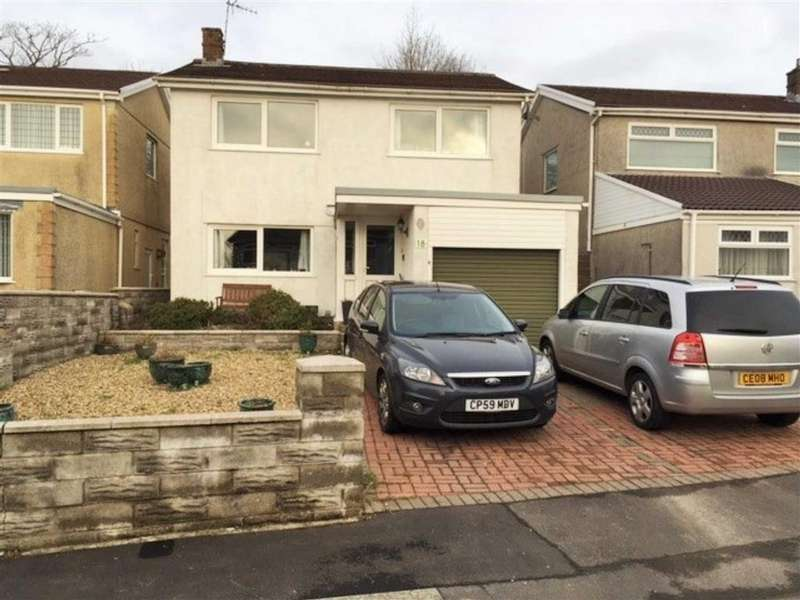 4 Bedrooms Detached House for sale in Ffordd Talfan, Swansea, SA4