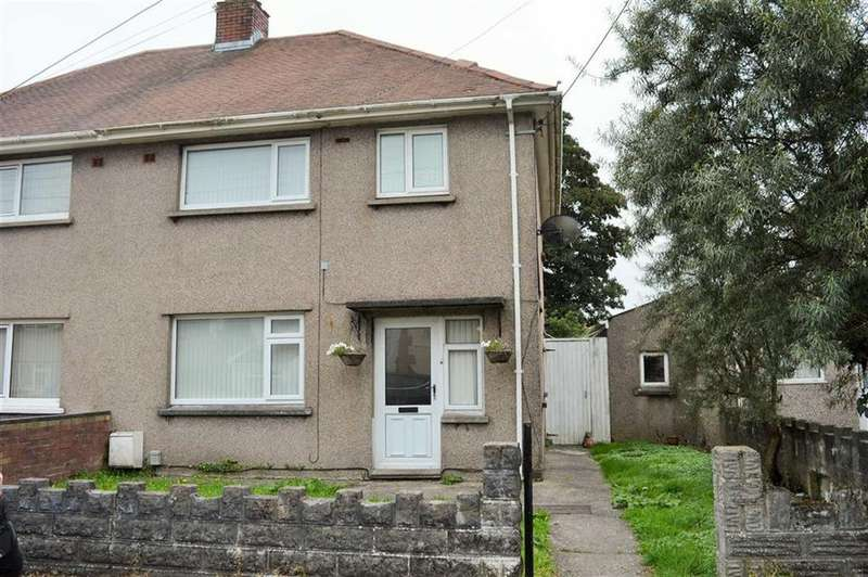 3 Bedrooms Semi Detached House for sale in Bryneinon Road, Swansea, SA4