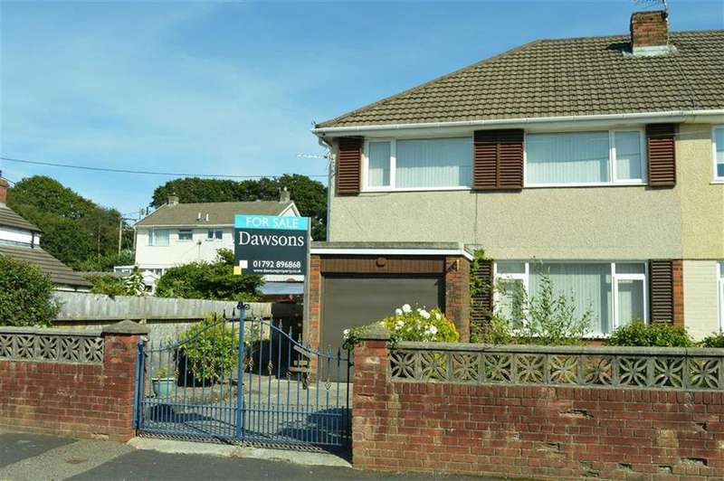 3 Bedrooms Semi Detached House for sale in Woodville Street, Swansea, SA4