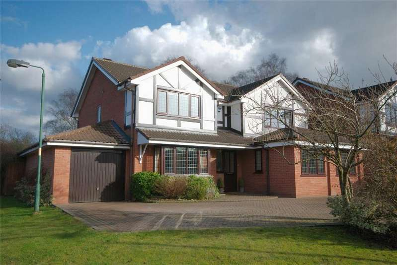 4 Bedrooms Detached House for sale in Leafy Glade, Streetly, Sutton Coldfield, West Midlands