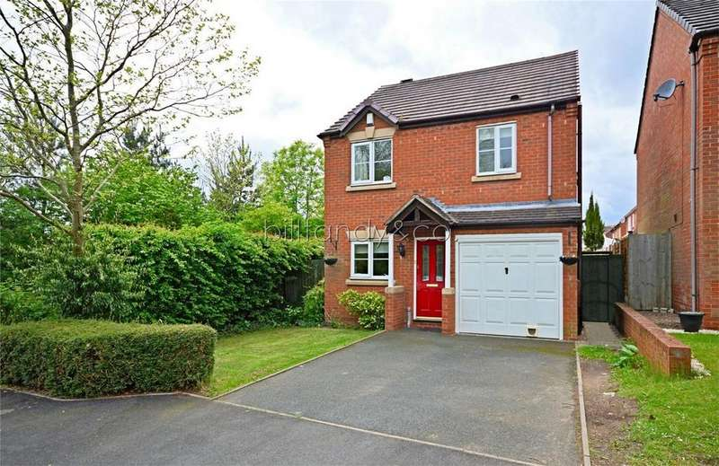 3 Bedrooms Detached House for sale in Two Oaks Avenue, BURNTWOOD, Staffordshire