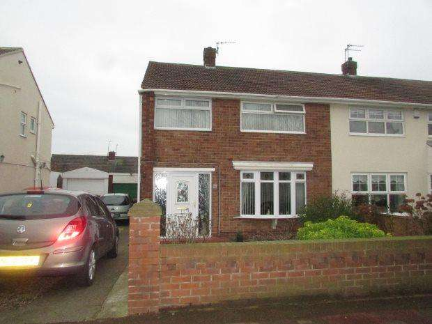 3 Bedrooms Semi Detached House for sale in CATCOTE ROAD, HARTLEPOOL, HARTLEPOOL